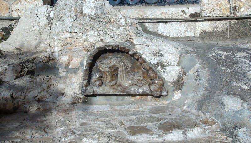 Roman Catholic Church de todas as nações, da igreja ou da basílica da agonia, Jerusalém imagem de stock