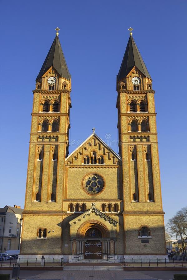 Roman Catholic Church, Nyiregyhaza, Hongrie photo libre de droits