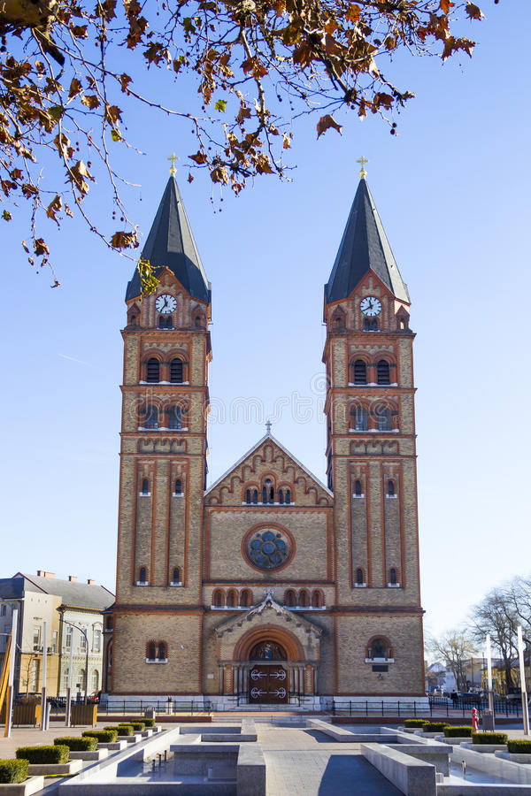 Roman Catholic Church, Nyiregyhaza, Ungarn lizenzfreie stockfotografie