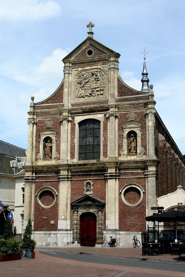 Roman catholic church St Michiels church royalty free stock photo