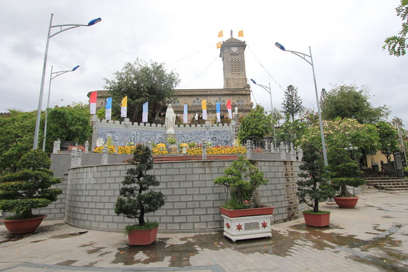 Roman Catholic Diocese dans Nha Trang photos stock