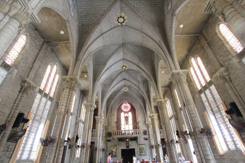 Roman Catholic Diocese van Nha Trang stock afbeelding