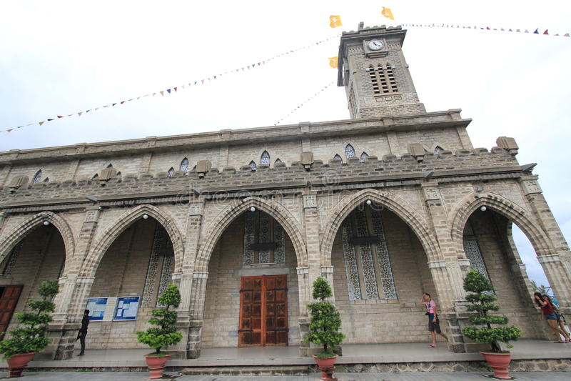 Roman Catholic Diocese van Nha Trang royalty-vrije stock afbeelding