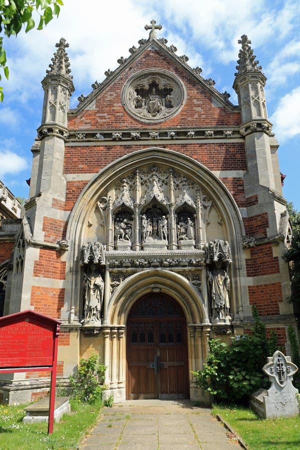 Roman Catholic-kerk stock afbeeldingen