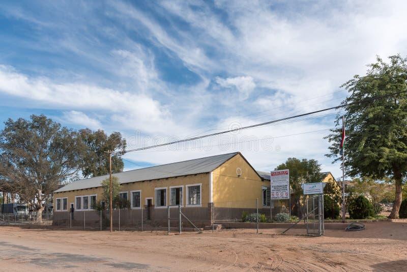 Roman Catholic Primary School in Keimoes stockbild