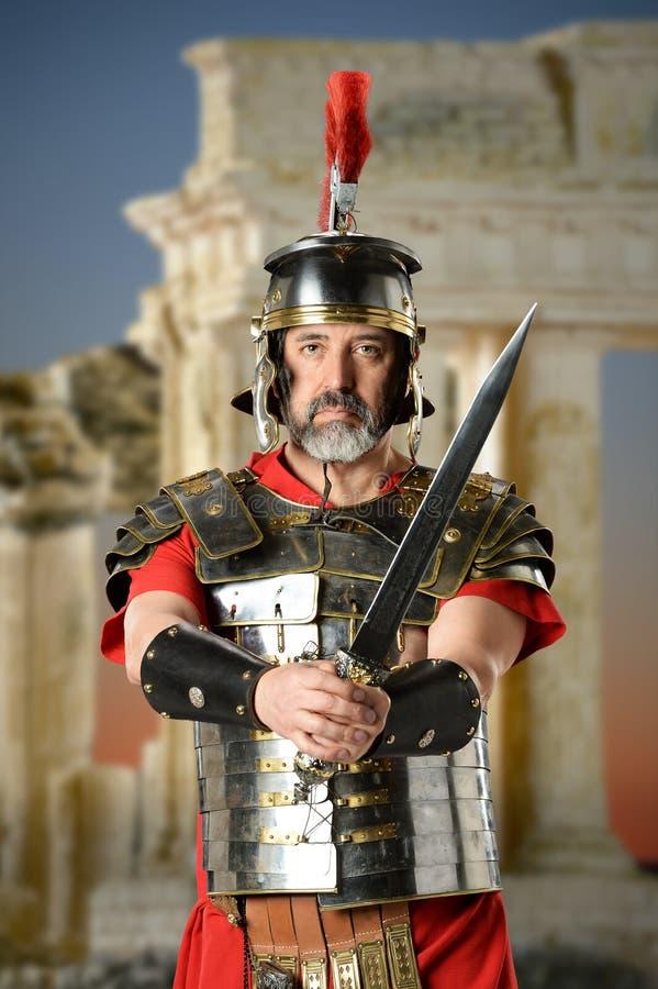 Roman Centurion royalty-vrije stock foto's