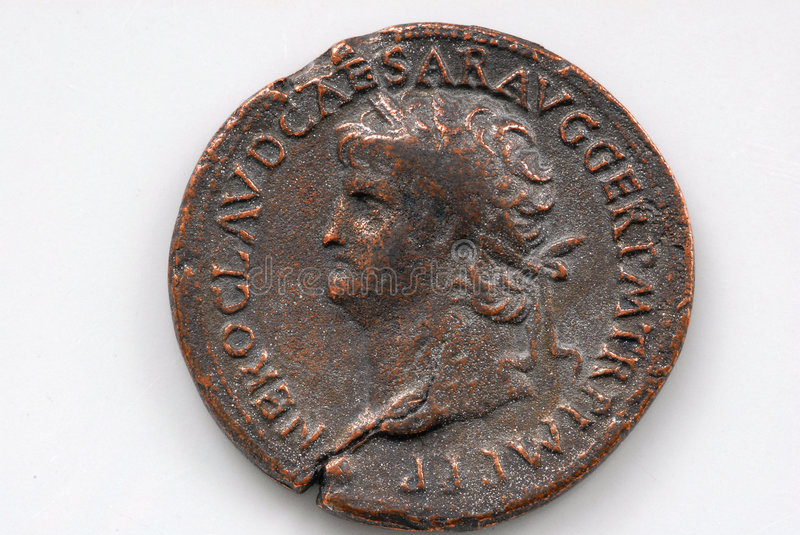 Download Roman Coin stock image. Image of irregular, greek, collection - 2697347