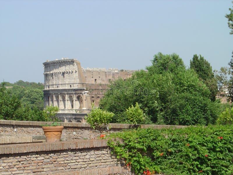 roman coliseum arkivbild