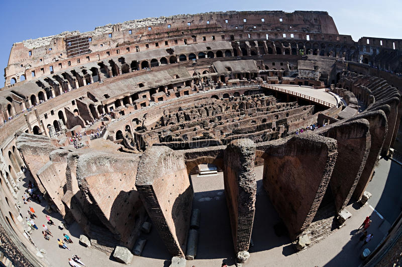 Roman Coliseum royalty free stock image