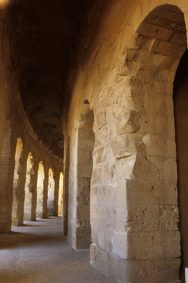 Download Roman Coliseum- El Djem, Tunisia Stock Image - Image: 9562881