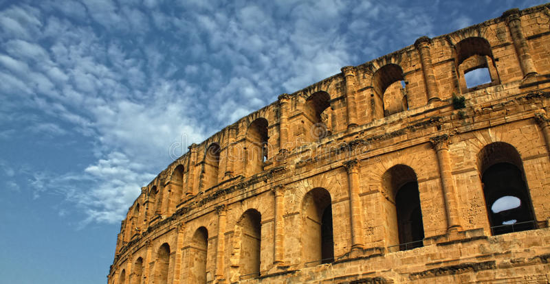 Download Roman Coliseum - El-Jem, Tunisia Stock Photo - Image: 13093406