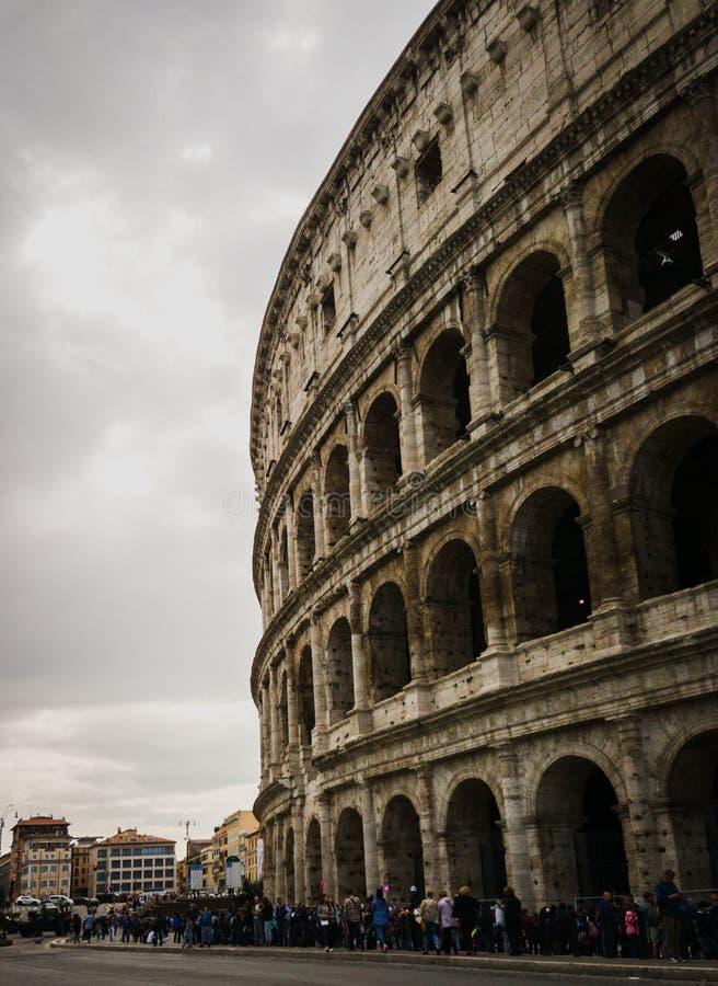 Roman Colliseum i Italien arkivfoton