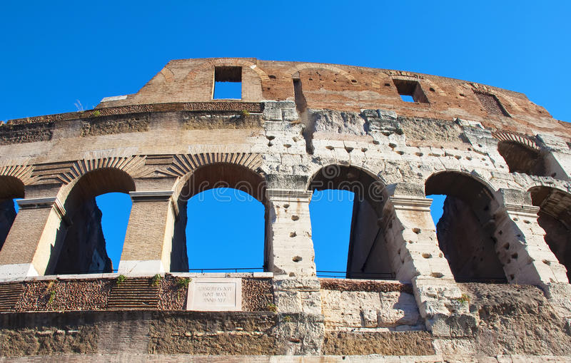 Download Roman Colosseum stock image. Image of roman, detail, visit - 21795947