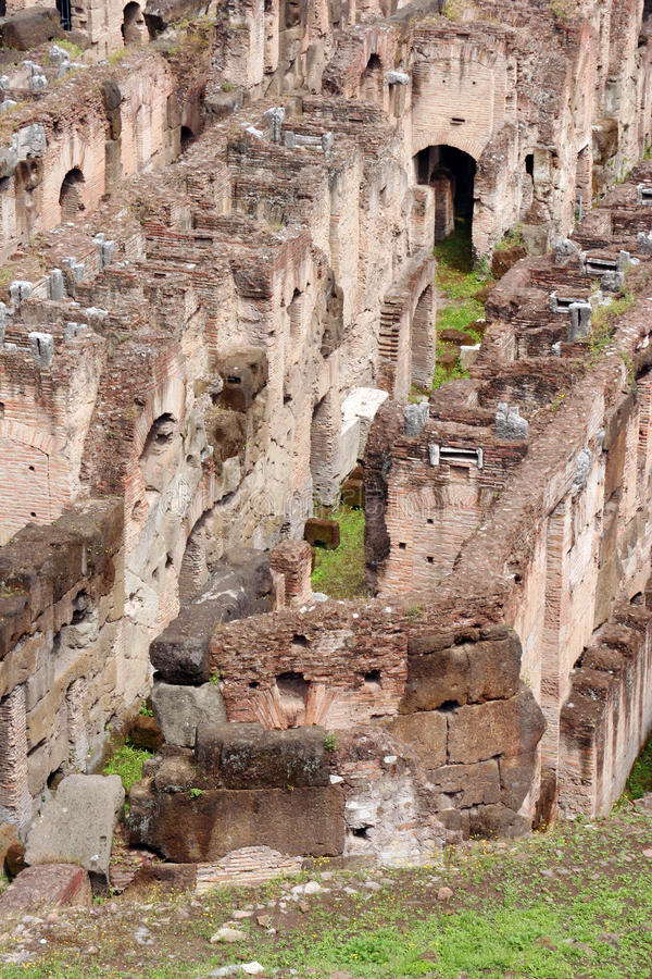 Download Roman Colosseum stock image. Image of historical, interior - 27259249