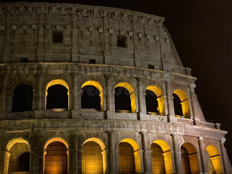 Roman Colosseum di fama mondiale fotografia stock