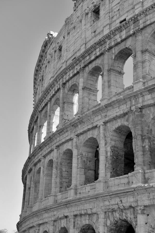 Roman Colosseum, ein Platz wo Gladiatoren gekämpft sowie seiend ein Ort für allgemeine Unterhaltung, Rom stockfotografie