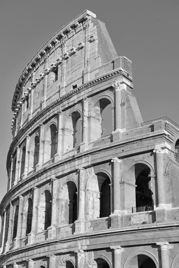 Roman Colosseum, ein Platz wo Gladiatoren gekämpft sowie seiend ein Ort für allgemeine Unterhaltung, Rom stockbilder