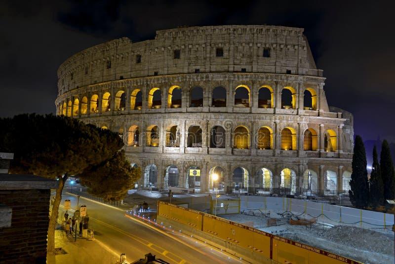 Roman Colosseum, ein Platz wo Gladiatoren gekämpft sowie seiend ein Ort für allgemeine Unterhaltung, Rom stockfotos