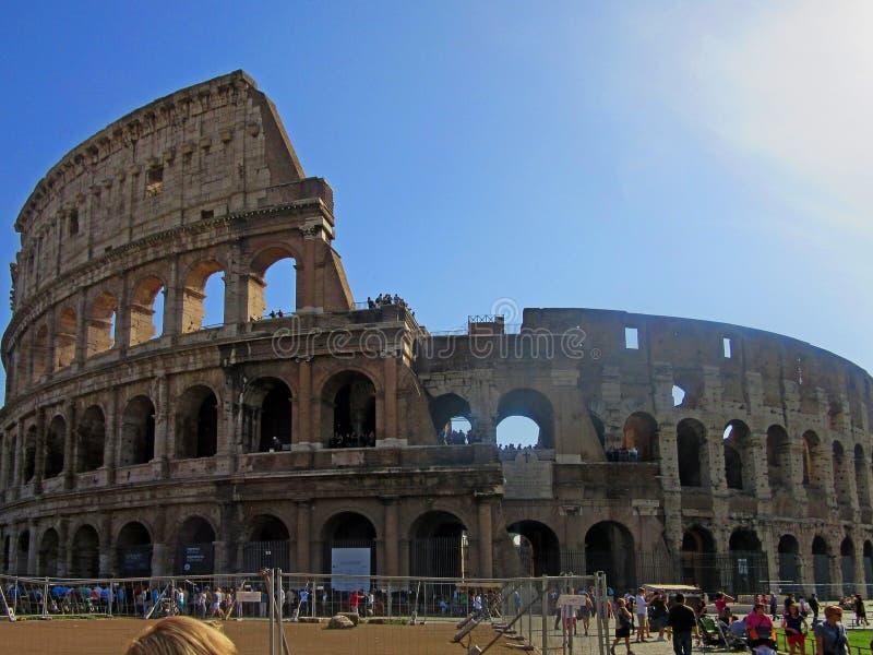 Roman Colosseum Exterior stock photos