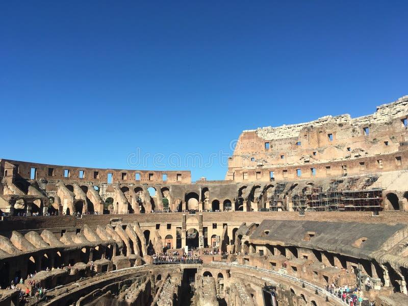 Roman Colosseum, Italie images libres de droits