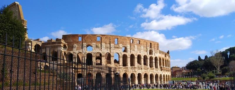 Roman Colosseum Outside, Rome, Italië royalty-vrije stock foto