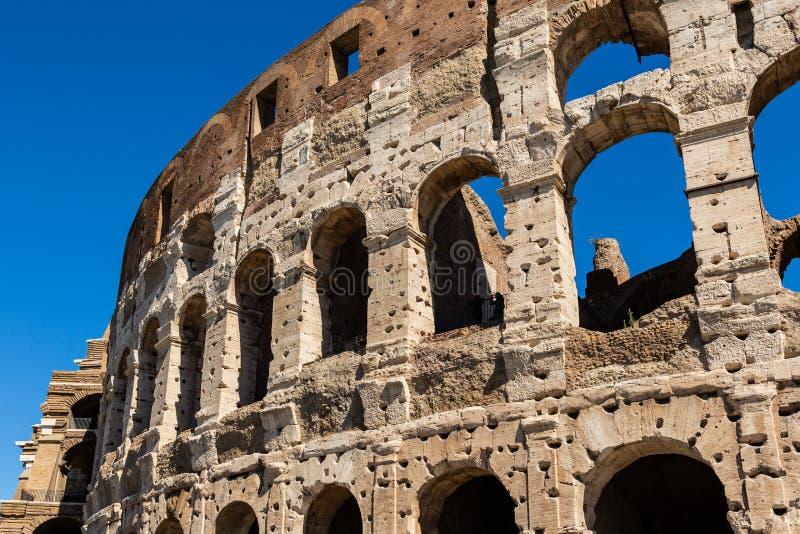Roman Colosseum in zonnige dag, Rome royalty-vrije stock foto's