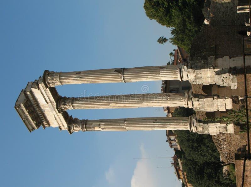 Roman Column stock photo