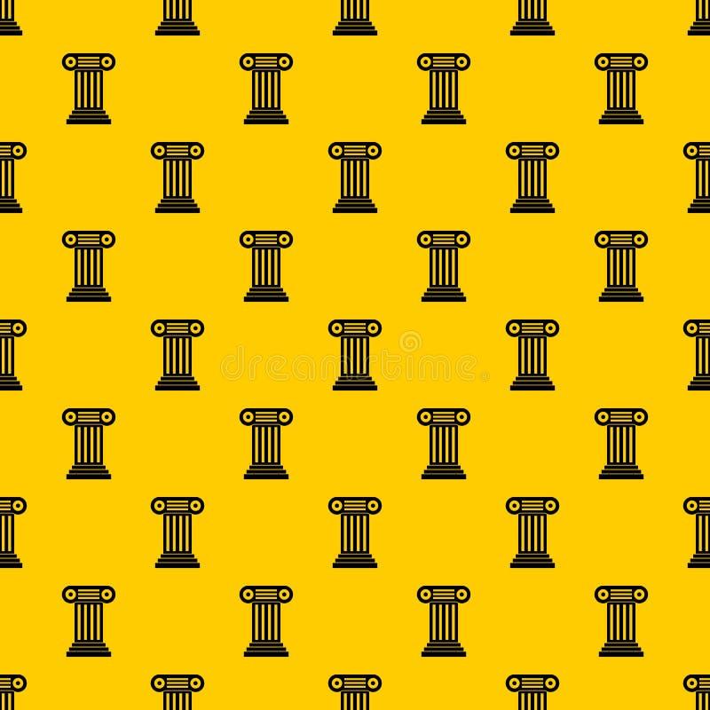 Roman column pattern vector stock illustration