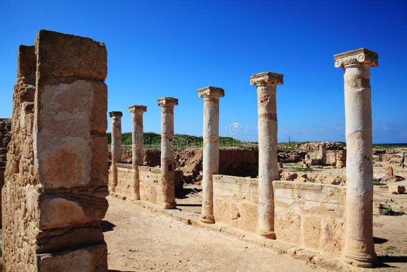 Roman Columns stockbild