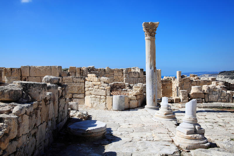 Roman Columns lizenzfreies stockfoto