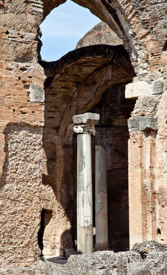 Roman columns royalty free stock photos