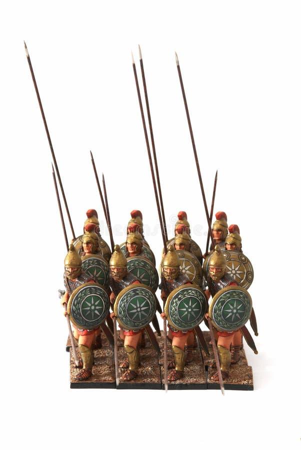 Free Roman Combat Phalanx Toys Stock Photo - 3933810