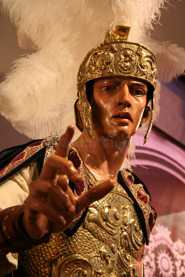 Roman Costume Stock Photography