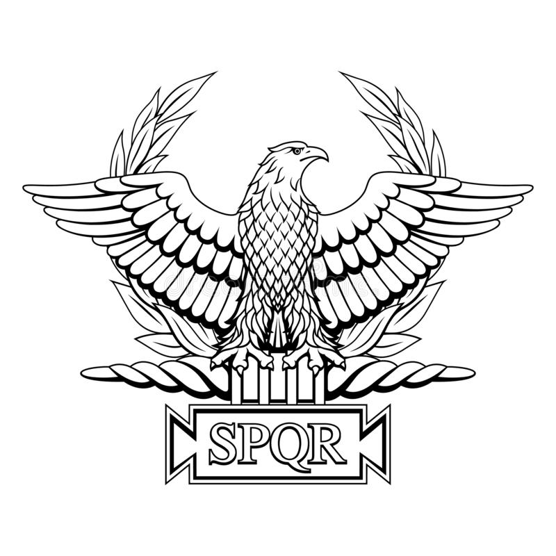 Free Roman Eagle With The Inscription S.P.Q.R. Royalty Free Stock Photography - 149447837