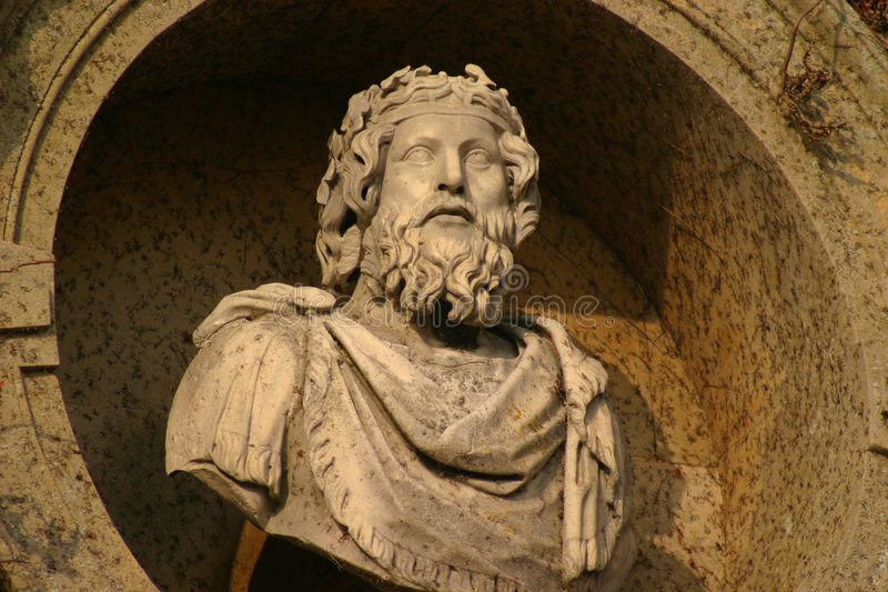 Download Roman Emperor stock image. Image of court, powerful, statue - 103869