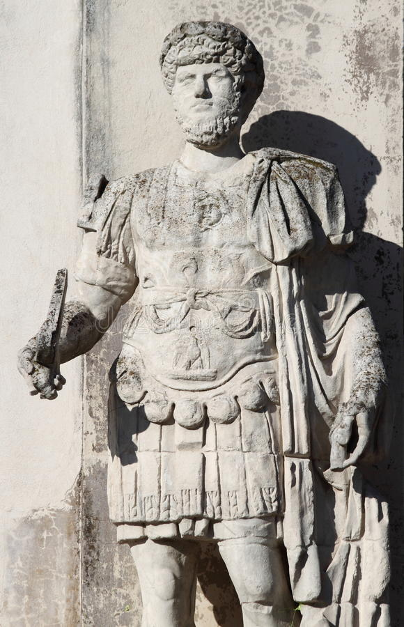 Roman emperor Hadrian royalty free stock image