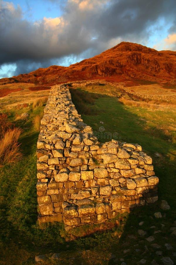 Roman Fort van Hardknott royalty-vrije stock foto