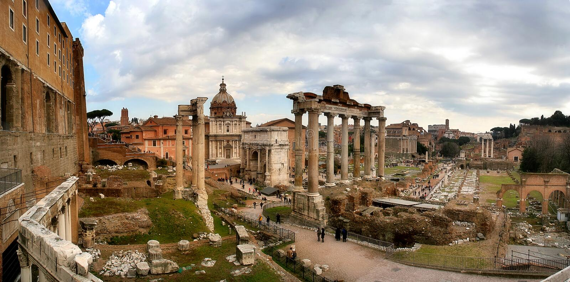 Download Roman Forum. stock image. Image of city, landmark, famous - 1426041