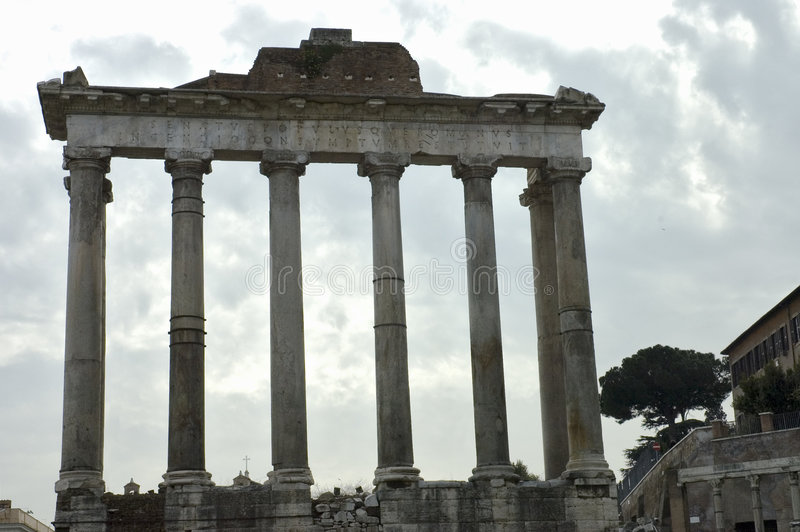 Roman Forum 3 stock image