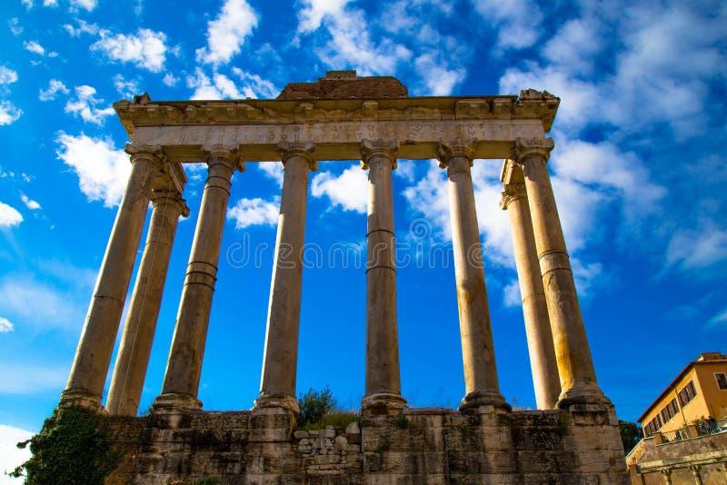 roman forum fotografia stock