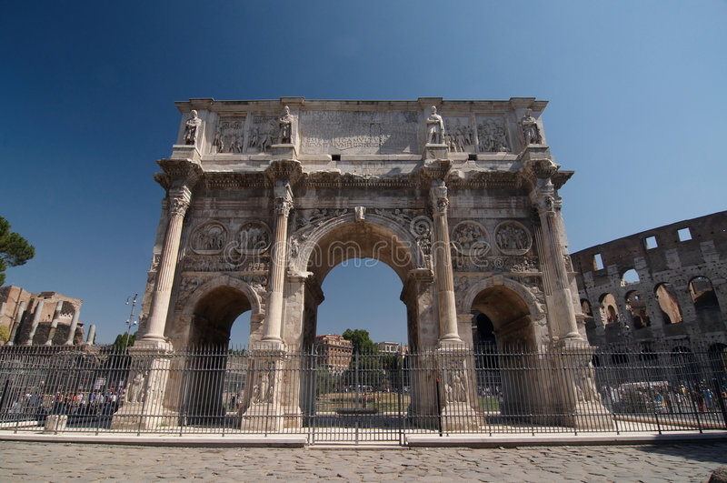 Download Roman Forum. Arch Of Constantine Stock Image - Image of roma, antiquities: 6282267