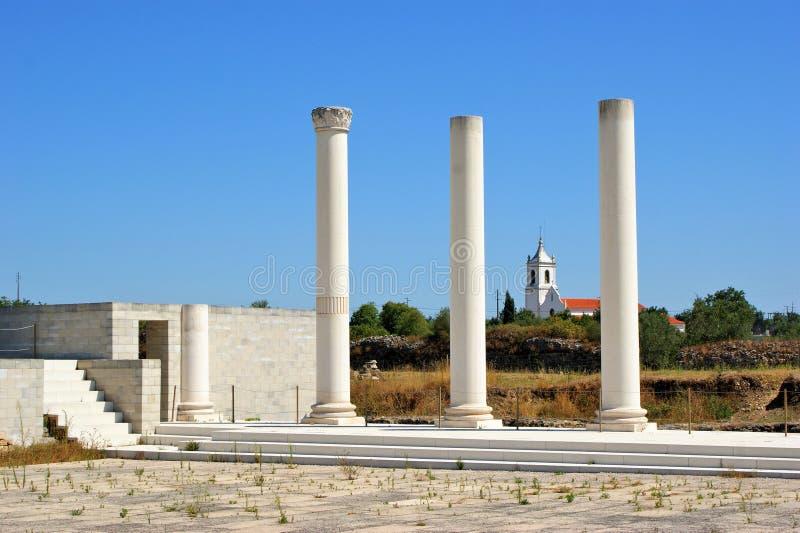 Download Roman forum of Conimbriga stock image. Image of condeixa - 26652135