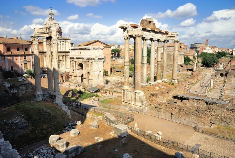 Roman Forum (Foro Romano) royalty free stock photos