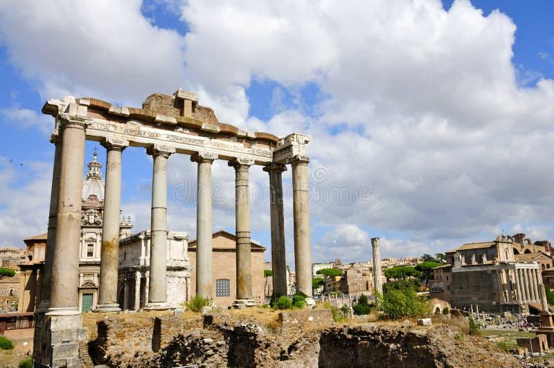 Roman Forum North photographie stock libre de droits
