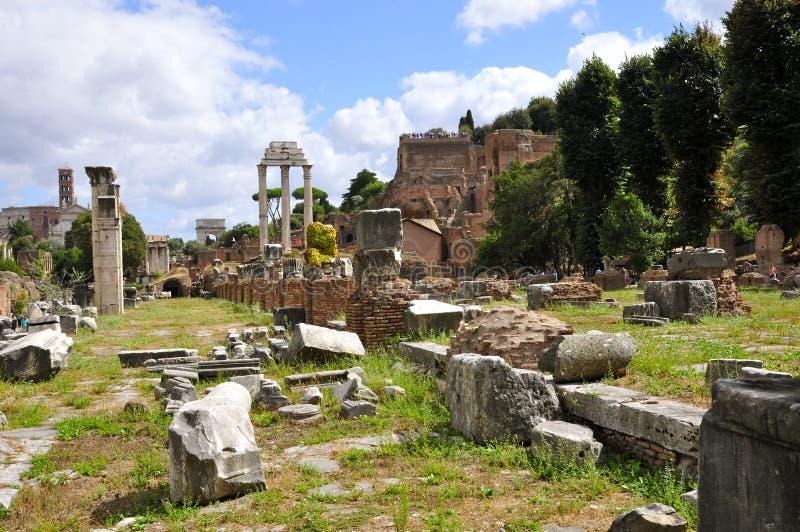 Roman Forum North photos libres de droits