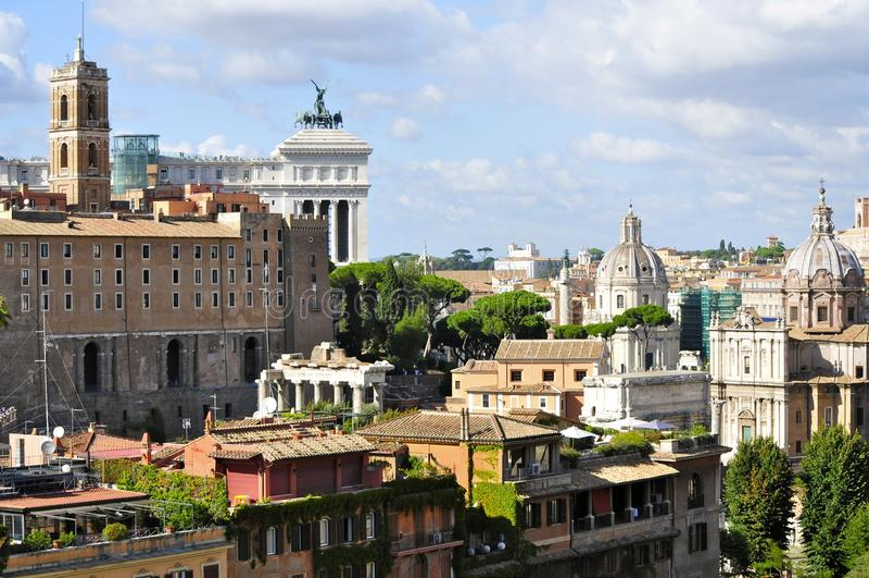 Roman Forum North photo libre de droits