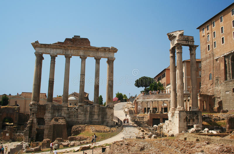 Download The Roman Forum in Rome stock image. Image of italy, italian - 16727217