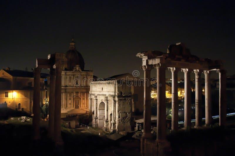 Roman Forum, Rome, Italië royalty-vrije stock foto's