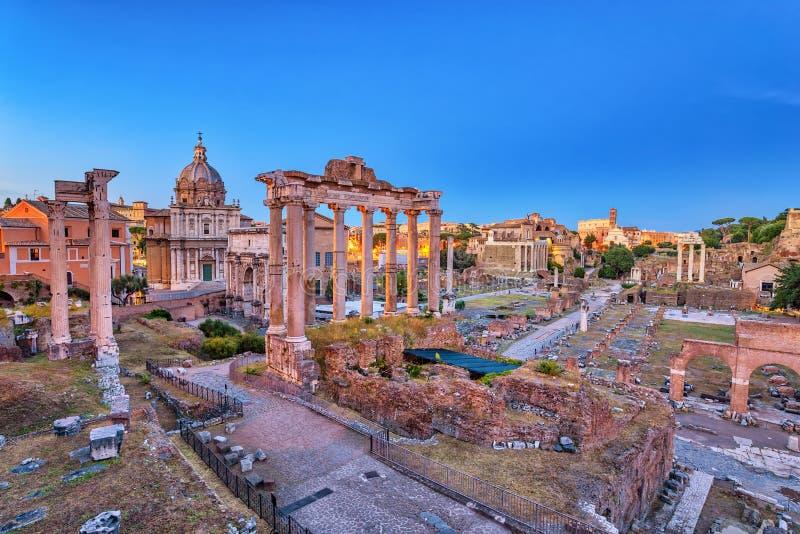 Roman Forum Rome Italy royaltyfria bilder