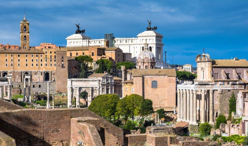 Roman Forum, Rome, Italy stock images